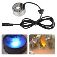 12 LED Ultrasonic Mist Maker Pond Atomizer Air Humidifier Water Fogger Fountain