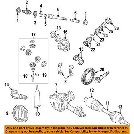 Wondrous Dodge Ram Front Axle Output Stub Shaft 52114382Ae Oem Mopar 06 11 Wiring Database Gramgelartorg