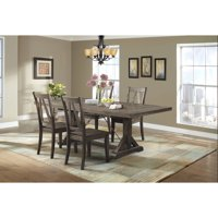 Picket House Furnishings Flynn 5-Piece Dining Set-Table and 4 Wooden Side Chairs