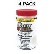 4 Brew Rite Cleaner for Automatic Drip Coffee and Espresso Machines