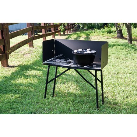Best Lodge Camp Dutch Oven Cooking Table, A5-7 deal