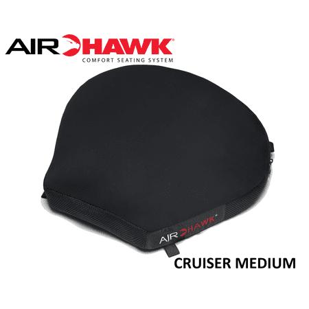 Airhawk Cruiser - AIRHAWK MOTORCYCLE CUSHION CRUISER, MEDIUM