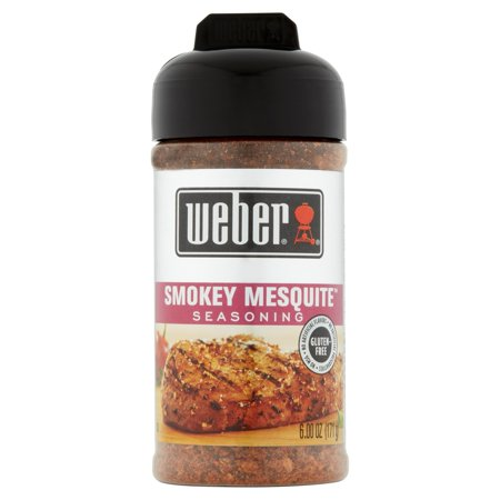 (2 Pack) Weber Grill Creations Smokey Mesquite Seasoning, 6.25 oz