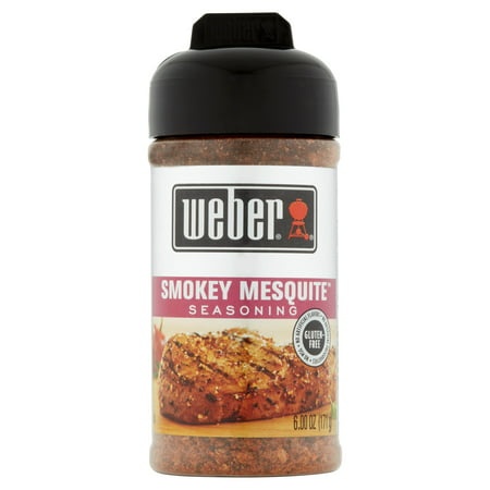 Mesquite Grilling - (2 Pack) Weber Grill Creations Smokey Mesquite Seasoning, 6.25 oz