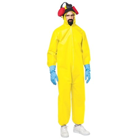 Halloween Light Show Breaking Bad (Breaking Bad Plus Size Men's Adult Halloween Costume, One Size,)