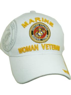 d7c2adac6cf Product Image Marine Woman Veteran Shadow Ladies Cap  Black - Adjustable