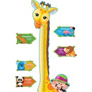 Trend Giraffe Growth Chart Bulletin Board Set, Multicolor, 1 / Set (Quantity)