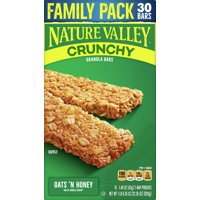 Nature Valley Granola Bars, Crunchy, Oats n' Honey
