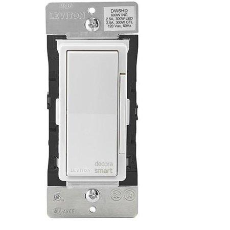 Leviton Decora Smart WI-FI 600W Universal LED/Incandescent Light Dimmer