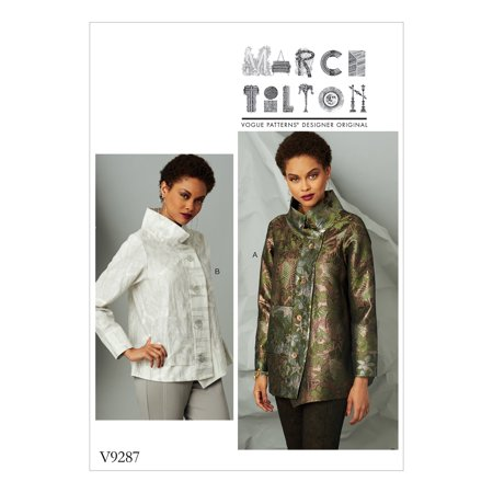 Sailor Collar Pattern (Vogue Patterns Sewing Pattern Misses' Jacket with Stand Collar and Extended)