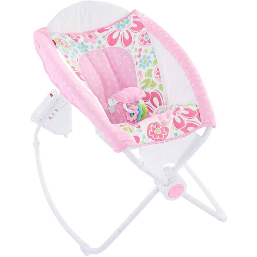 Fisher Price Newborn Auto Rock 'N Play Sleeper, Floral Confetti