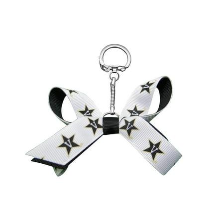Vanderbilt University Mini Bow Keychain