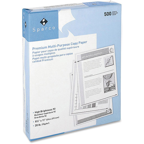 Sparco 3-Hole Punched Copy Paper