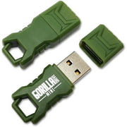 EP Green Mini GorillaDrive 8GB Rugged USB Flash Drive