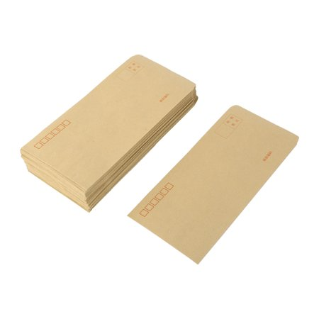 Office School Paper Rectangle Shaped Letter Envelope Stationery Gift 100 Pcs - image 5 of 5