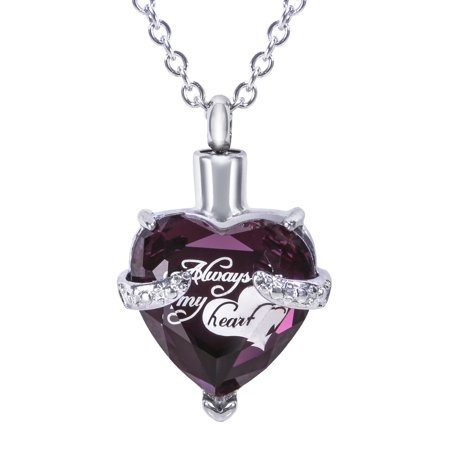 Cremation Urn Necklace for Ashes -