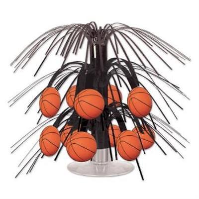 Basketball Mini Cascade Centerpiece, 4PK](Basketball Centerpiece)