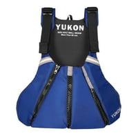 Yukon 13007-21-B-SA Sport Paddle Vest, Sapphire Blue - 4XL & 6XL