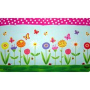 Custom Printed Rugs Garden Party Doormat