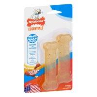 Nylabone Essentials Chicken Flavor Puppy Chew Toy