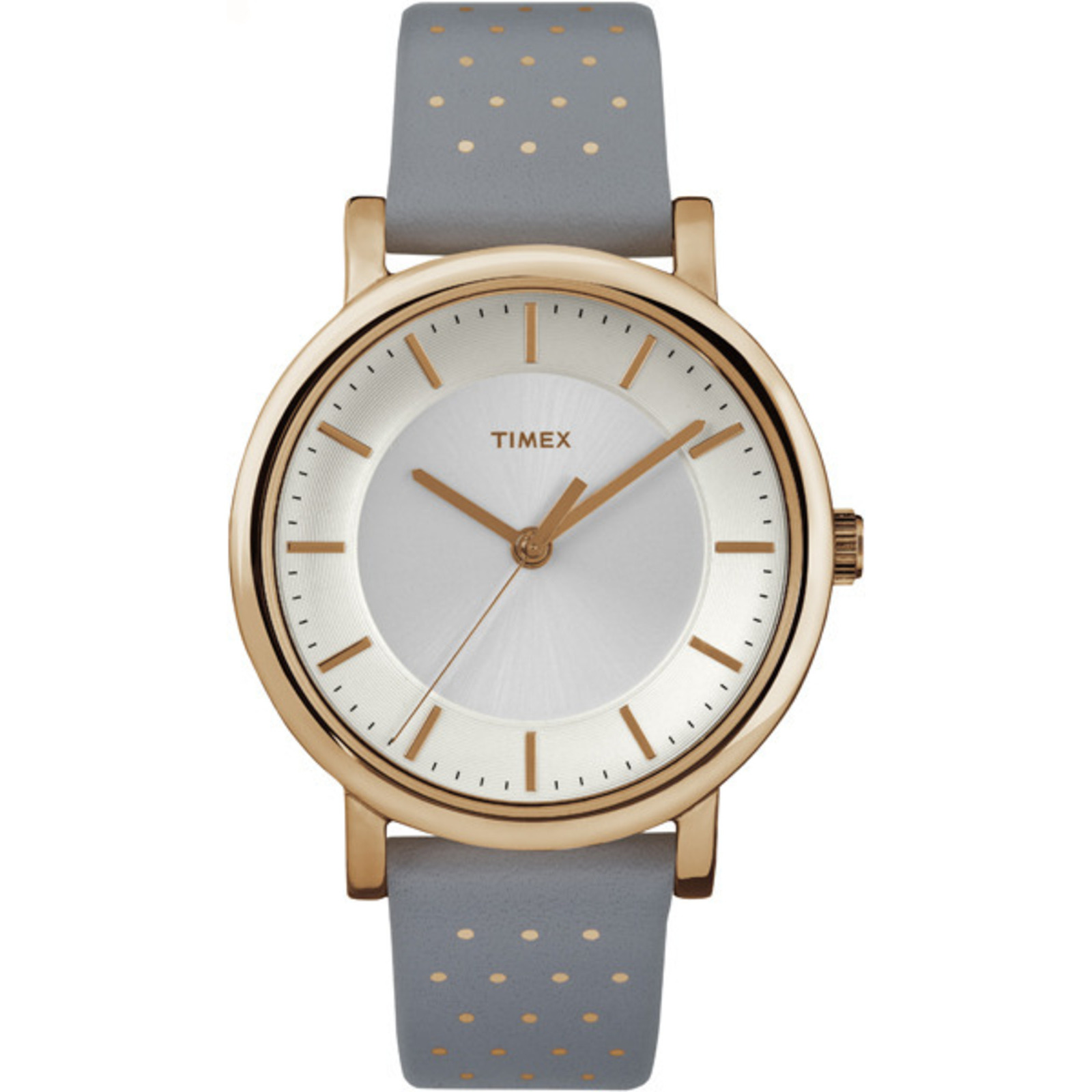 Timex Women's Originals 38mm |Gray| Leather Dress Watch TW2R27400