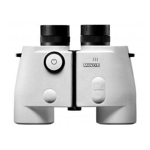 Minox Nautic BN 7x50 Binoculars with Digital Compass, White by Minox