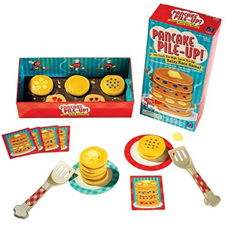 educational insights pancake pile-up! relay game - Relay Games