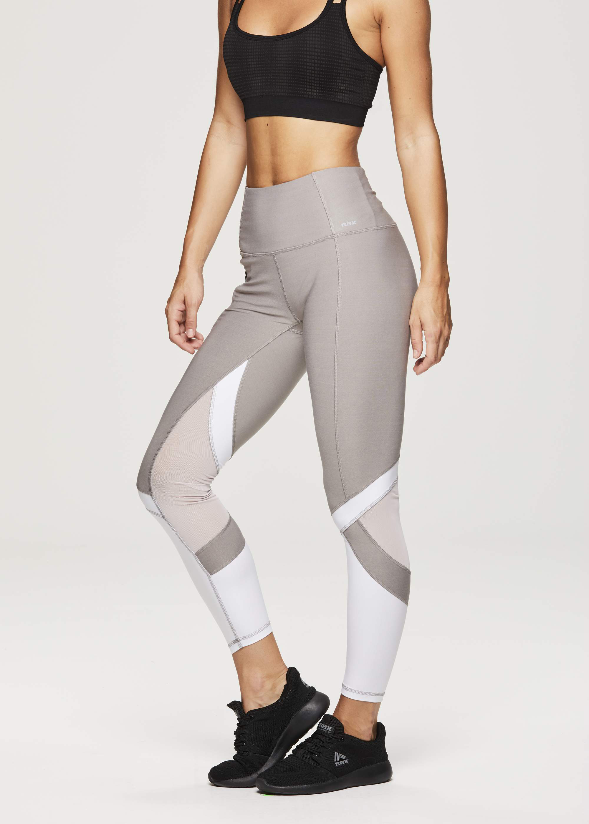Women's Active 25 7/8 Colorblock and Mesh Legging