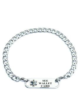 bcffafbee2fd9 Universal Medical Data Womens Bracelets & Charms - Walmart.com