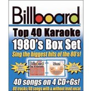 Billboard Top 40 Karaoke: 1980s Box Set (4 Disc Box Set)