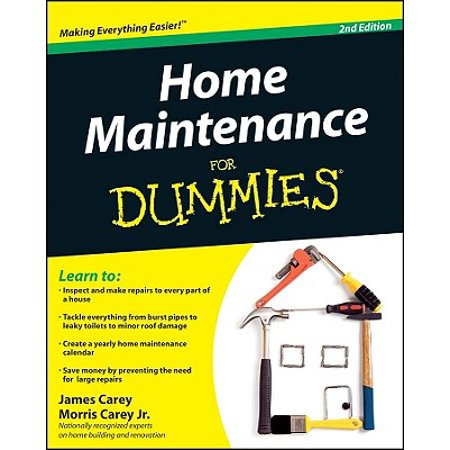 Home Maintenance for Dummies, 2nd Edition (Home Maintenance)
