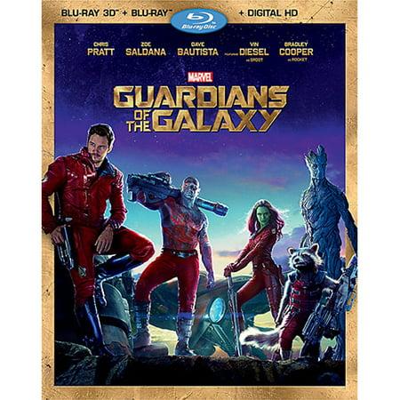 Guardians of the Galaxy (Blu-ray 3D + Blu-ray + Digital