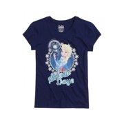 Justice Girls Frozen Elsa Graphic T-Shirt