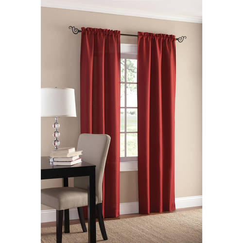Mainstays Sailcloth Curtain Panel, Set of 2