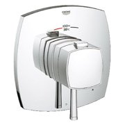 Grohe 19935000 Grandera Single Function Thermostatic Trim with Control Module, Available in Various Colors