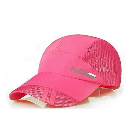 PaZinger Summer Baseball Cap Quick Dry Mesh Back Cooling Sun Hats Flexfit Sports Caps for Golf Cycling Running Fishing Outdoor Research ()