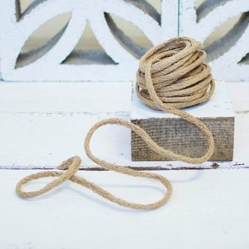 Jute Rope Twine with Bendable Wire 9 Yards Rustic Burlap String Natural