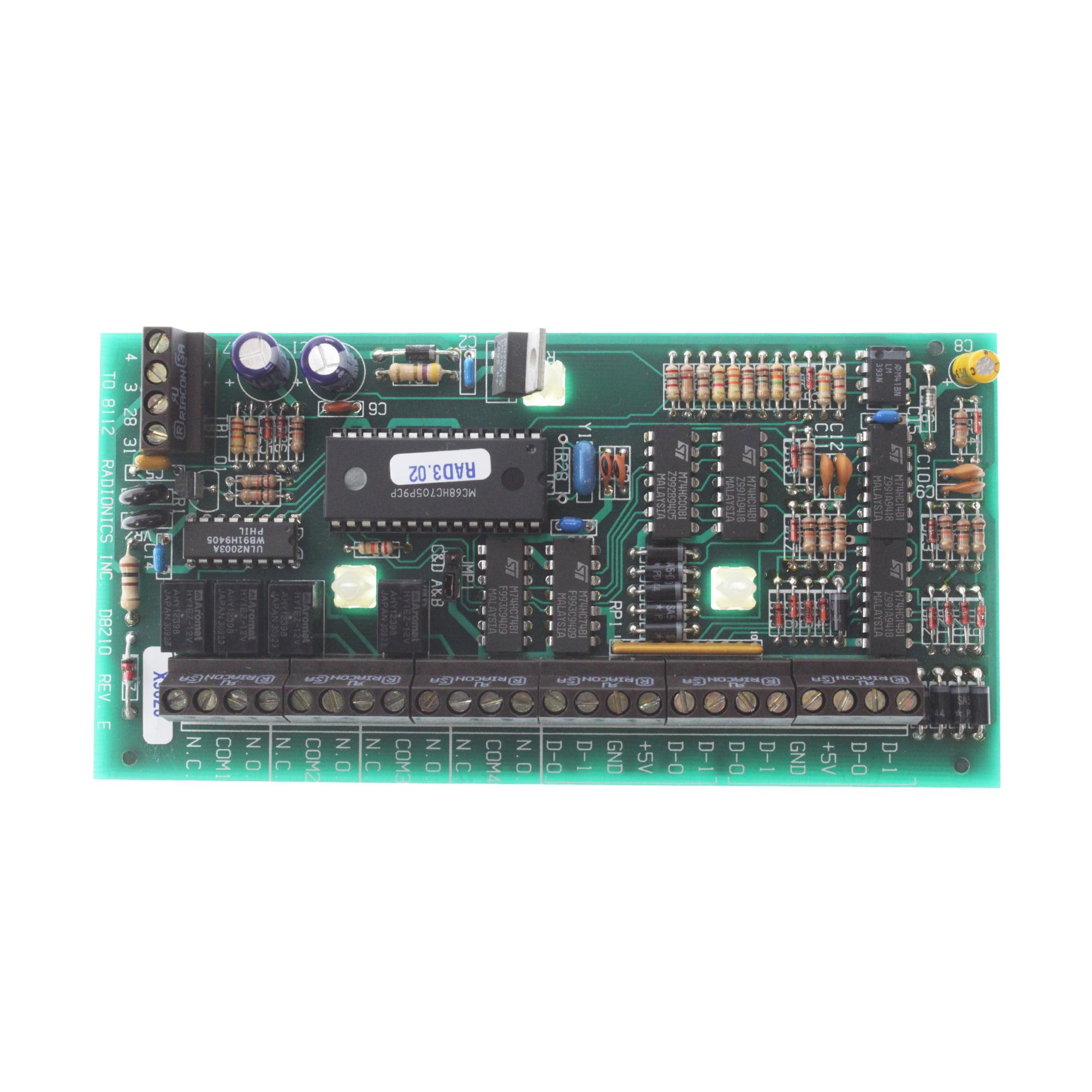 Radionics D8210 Weigand Card Reader Interface Module