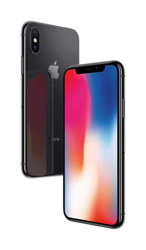 AT&T Apple iPhone X 64GB, Space Gray