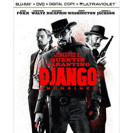 Django Unchained (Blu-ray + DVD + Digital Copy + UltraViolet + Bonus Disc) (Walmart Exclusive)