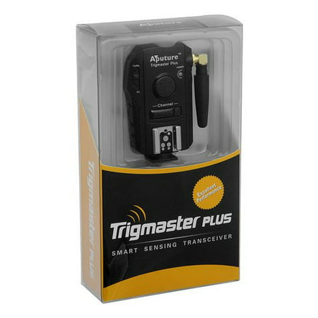 Aputure Trigmaster Plus, 2.4GHz Radio Remote Flash Trigger and Shutter Release, fits Hasselblad H1, H1D, H2, H2D, H2D-39, H2F, H3D, H3DII (Hasselblad Flash)