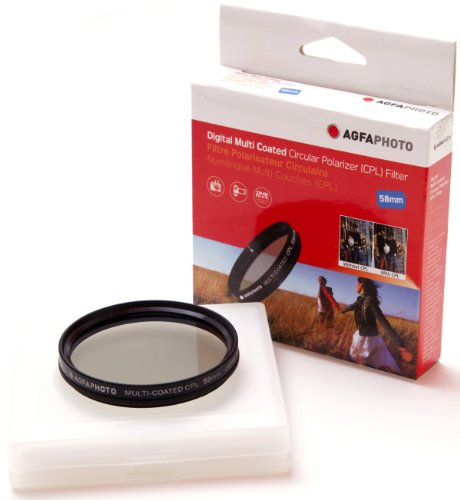 AGFA Digital Multi-Coated Circular Polarizing (CPL) Filter 58mm APCPF58 by Agfa