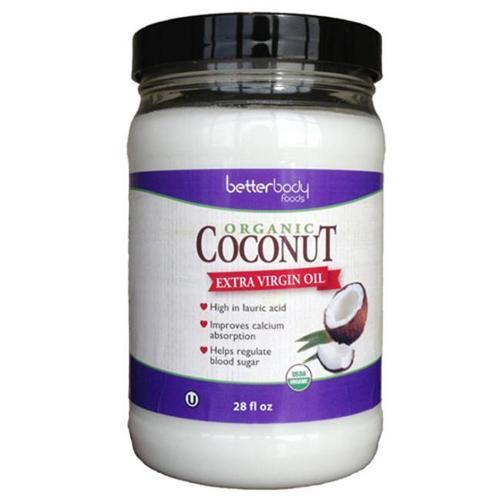 Better Body Foods BPC1024973 Better Body Foods Coconut Oil, Extra Virgin - 6x28 OZ