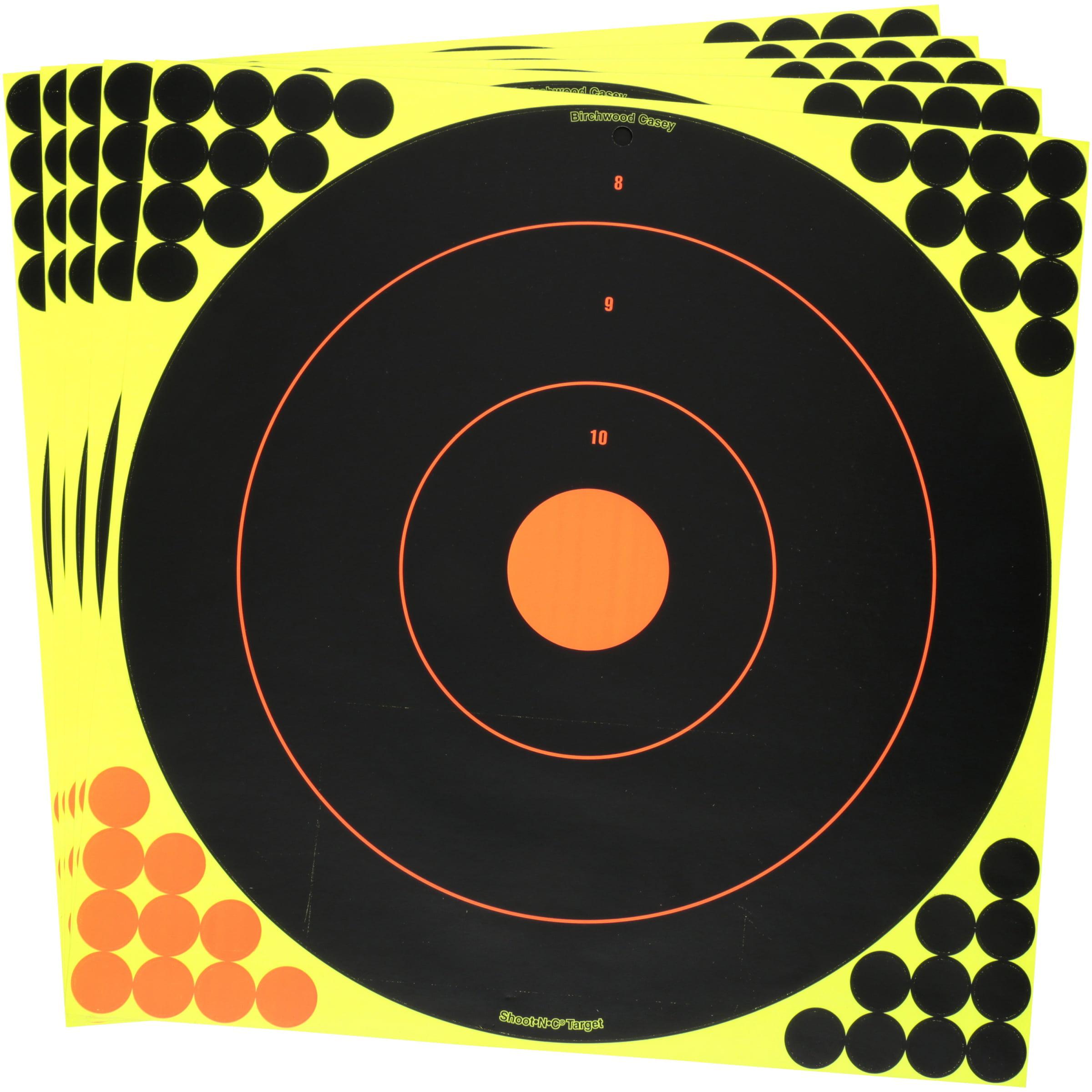 """Birchwood Casey Shoot N C Reactive Targets 1/"""" 2/"""" 3/"""" Combo-Target Practice"""