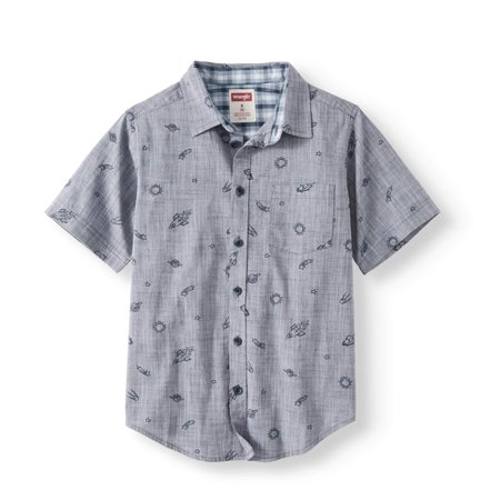 Button Cami (Wrangler Boys Short Sleeve Button Up)
