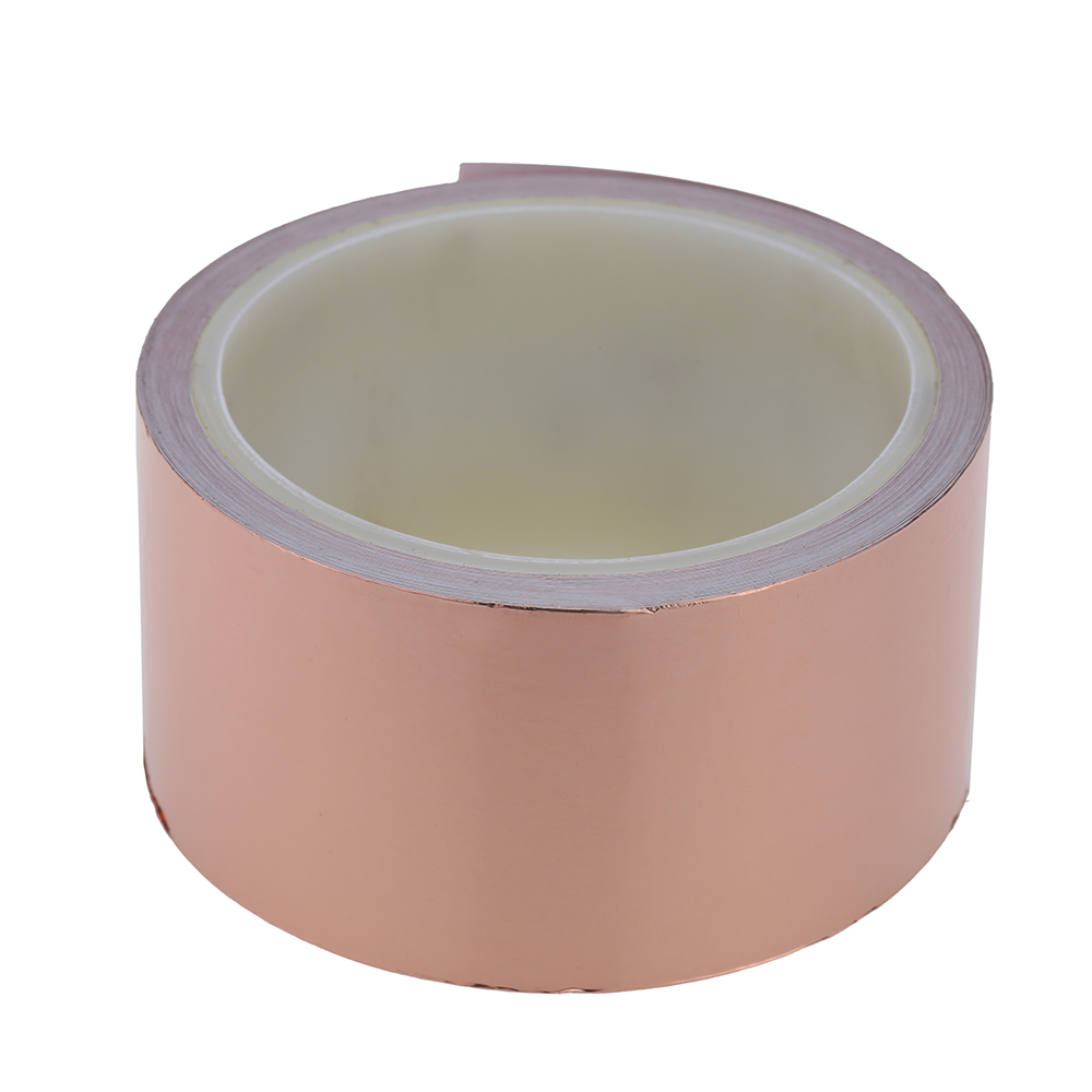 copper foil shielding tape 1-side conductive adhesive guitar accessorieYRDE