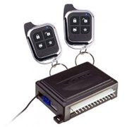 Scytek Car Alarm System with Keyless Entry & Two 4-button Chrome Remotes