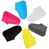 Rain Shoe Covers, Reusable Silicone Shoe Covers Waterproof Foldable Slip Cycling Outdoor Shoe Covers for Kids,Women,Men