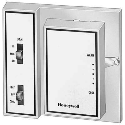 Honeywell T4039J1026 Fan Coil Thermostat, Automatic Heating/Cooling