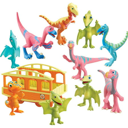 Get Quotations Tomy International Dinosaur Train Mr Maiasaura And Daphne Dinovision 2 Pack